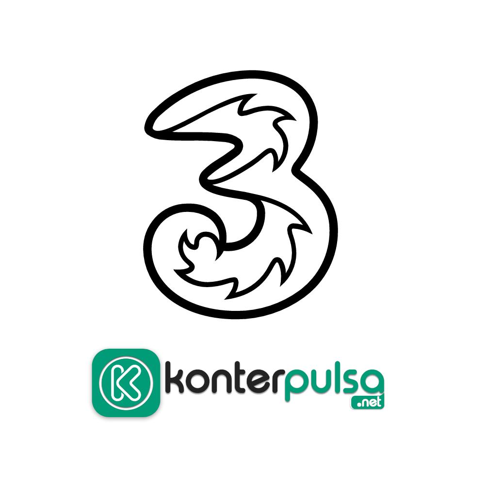 Voucher Three - Voucher 1GB + 2GB 3G JABO + 2GB Kendo 30 hari